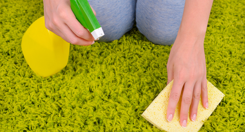 Средства для чистки ковров и ковролина в домашних условиях